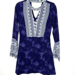 Vintage Havana Bell blue dress size small
